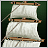 Mizzen royal gallant sail