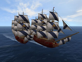 UnchartedWatersOnline ship at sea