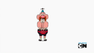Uncle Grandpa and Belly Bag in Bad Morning Intermission 003