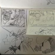 Uncle Grandpa More Director Shorts Drawings By Mike Carlo 2