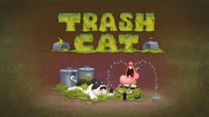 Trash Cat Title Card HD