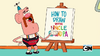 Uncle Grandpa and Belly Bag in How to Draw with Uncle Grandpa 01