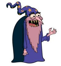 Transparent Evil Wizard