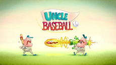 Uncle Baseball Title Card HD