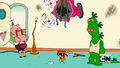 Belly Bag, Mr. Gus, Pizza Steve, and Uncle Grandpa in Birdman 03.png