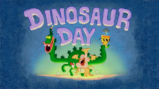 Dinosaur Day Title Card HD