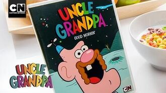 Uncle Grandpa Good Mornin' DVD Available Now! Cartoon Network