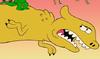 Yellow Dinosaur