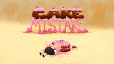 Cake Mistake Title Card HD