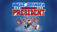 Uncle Grandpa Runs for President Title Card HD
