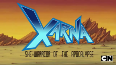 Xarna She-Warrior of the Apocalypse 50