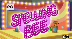Spelling Bee Title Card