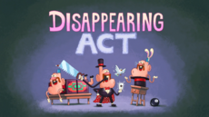 Disappearing Act Title Card HD