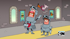 Uncle Grandpa, Belly Bag, and Lewis in Grandpa at Arms 001