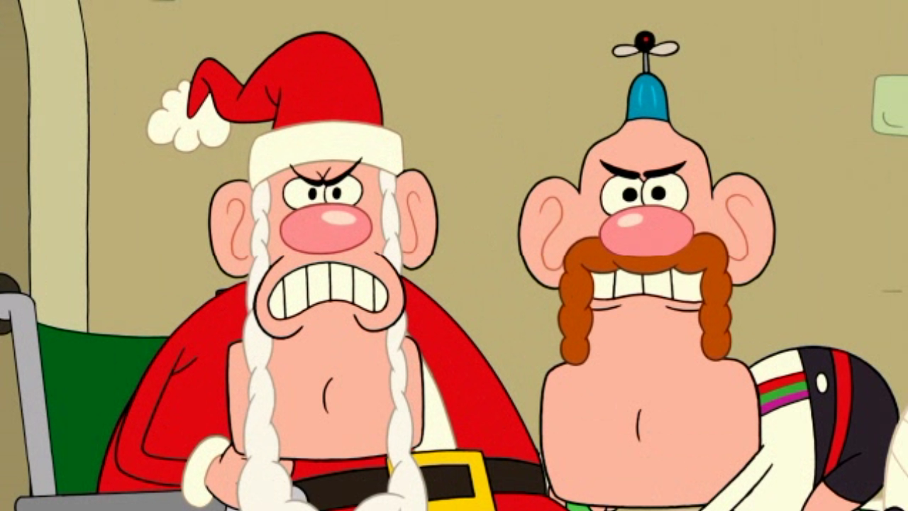 Image - Uncle Grandpa and Santa Claus in UG Christmas Special pt I ...