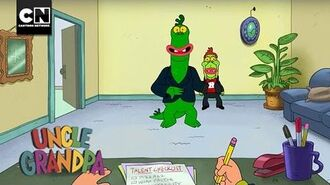 Uncle Grandpa Mr. Gus' Audition Cartoon Network