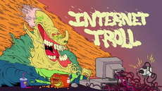 Internet Troll Title Card