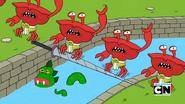 Crab Sapiens and Mr. Gus in Grandpa at Arms 001
