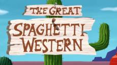 The Great Spaghetti Western Title Card