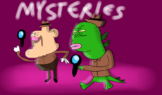 Uncle Grandpa Mysteries Title Card