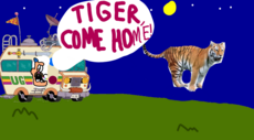 Uncle Grandpa Tiger Come Home Title Card