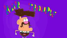 Uncle Grandpa Hair Trouble Title Card