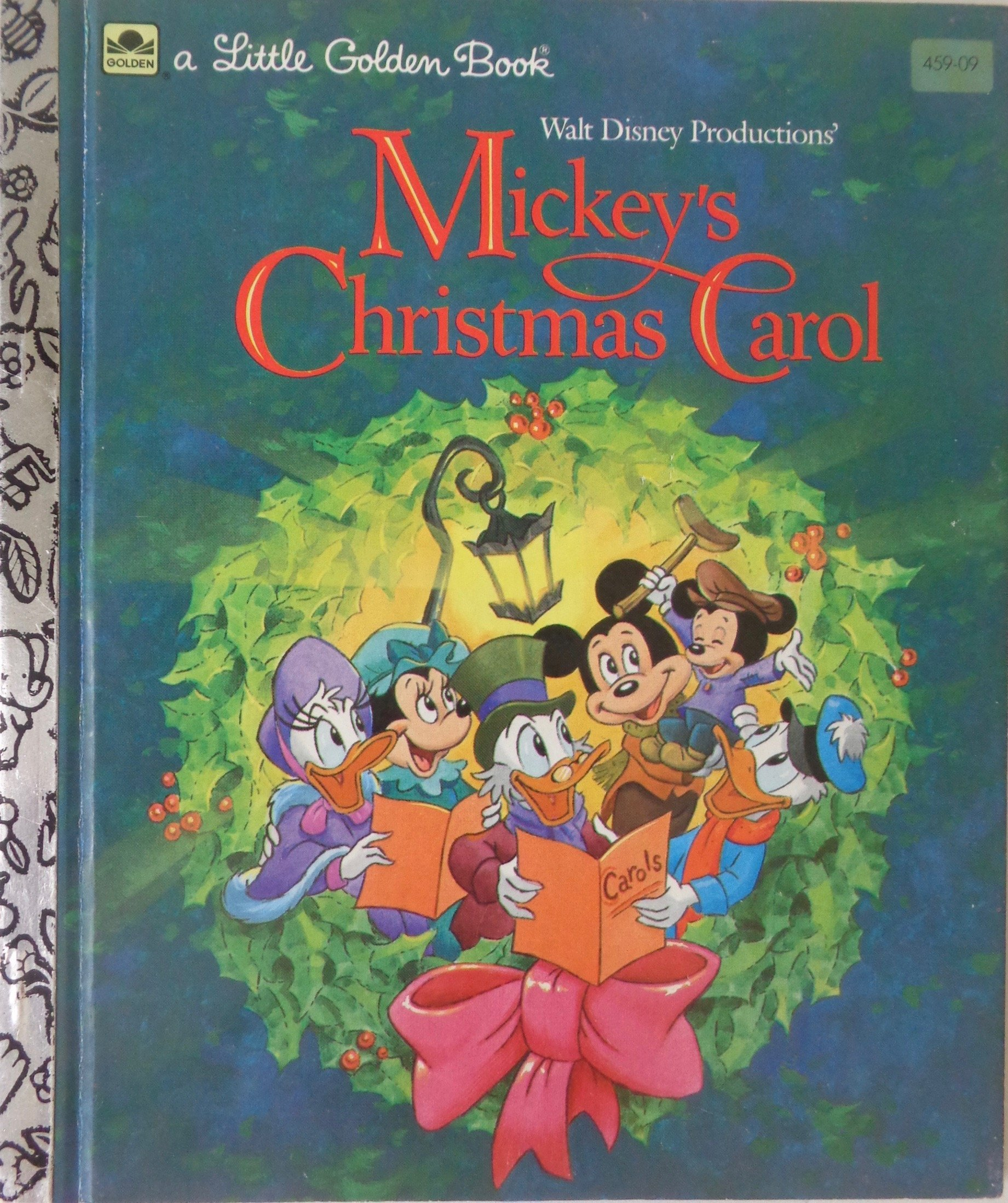 Uncle Scrooge Christmas Carol.Mickey S Christmas Carol Book Uncle Scrooge Wiki