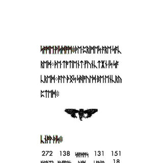 Page 4 Artefacts in Light colors, so artefacts in background aruond text.