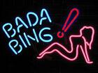 Bada bing neon sign
