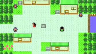 Pokemon Silver Gold Crystal - New Bark Town