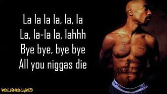 2Pac - Troublesome '96 (Lyrics)