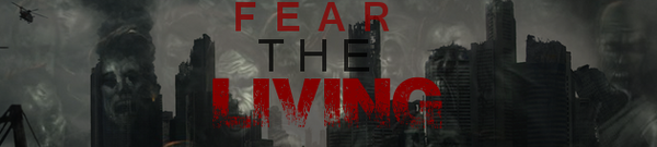 Fear The living Banner
