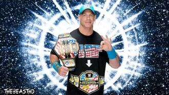 "2015 John Cena 6th WWE Theme Song - ""The Time Is Now"""