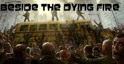 Beside the dying fire rewrite poster