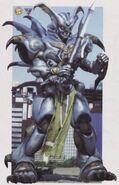 Demon God Robot Veronica