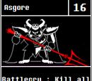 Asgore: Previous Versions