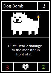 Dog Bomb ready