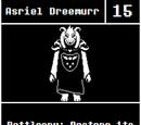 Asriel Dreemurr: Previous Versions