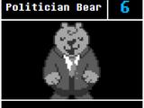 Politician Bear