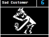 Sad Customer