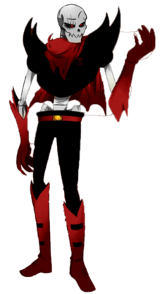 Underfell Papyrus Image