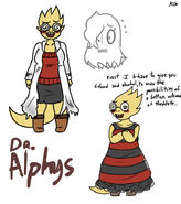 Doctor alphys by kaitogirl-d9v8pwl