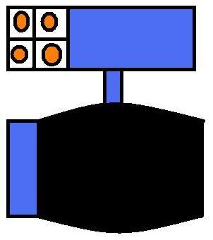 Mecha Robot Slim-Mode(rockets)