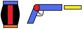 Mecha Robot Slim-Mode(gun)