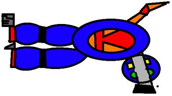 Mega Robot Slim Mode Gun