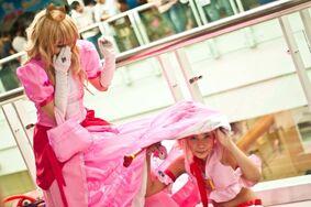 Hiding under her skirt by michiko mimika