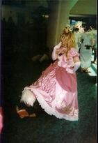Kakashi and princess peach by wolfer2234