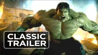 The Incredible Hulk (2008) - Trailer