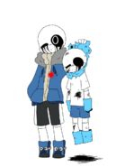 Killer sans and blue