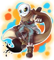 Sans/Inktale | Undertale AU Fanon Wiki | FANDOM powered by Wikia